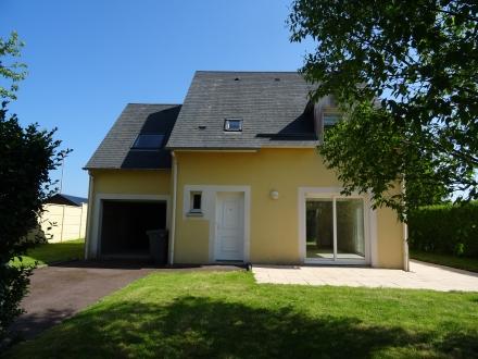 Location Maison avec jardin 5 pièces Cuverville (14840)